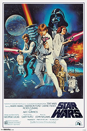 Star Wars IV Collector's Edition Wall Poster