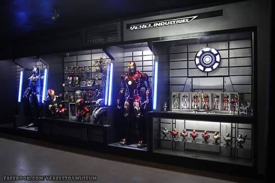 Iron Man Room Ideas For Adults